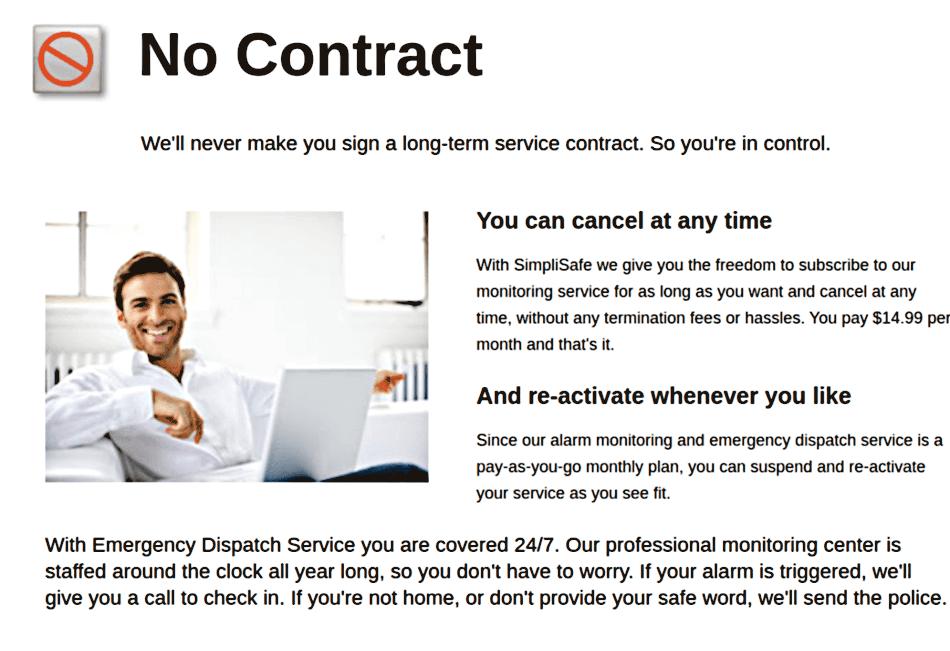 Simplisafe Contract
